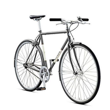 Viva Legato 7 City Bike, 700c Wheels, Men's Bike, Grey, 53 cm Frame, 56 cm Frame, 59 cm Frame